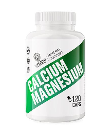 swedish-suplements Calcium + Magnesium / 120 Caps
