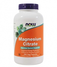 NOW Magnesium Citrate 400mg / 240 Vcaps