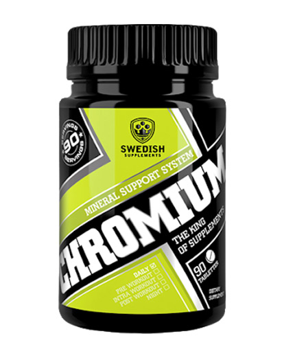 swedish-suplements Chromium / 90 Tabs