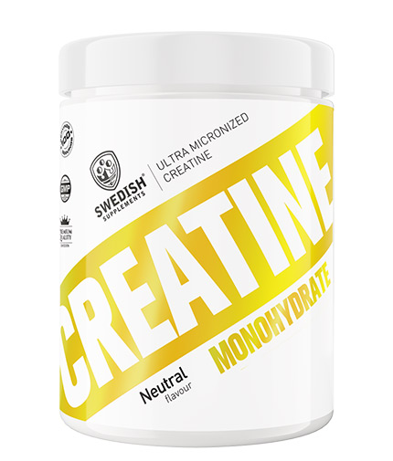 swedish-suplements Creatine Monohydrate / Extra Micronized