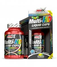 AMIX Multi-HD Liquid Caps / 60 Caps.