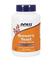 NOW Brewer's Yeast 650mg. / 200 Tabs.