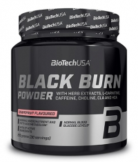 BIOTECH USA Black Burn Drink Powder
