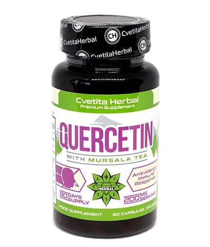 cvetita-herbal Quercetin 200mg / 80 Vcaps