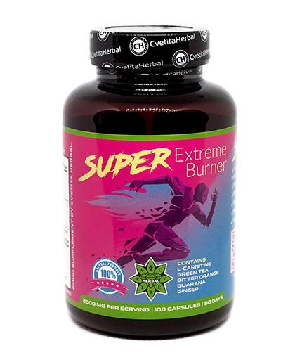 cvetita-herbal Super Extreme Burner 1000mg / 100 Caps