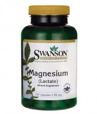 SWANSON Magnesium Lactate / 120 Caps
