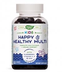 NATURES WAY Kids Happy & Healthy Multi / 60 Gummies