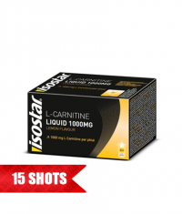 ISOSTAR Liquid L-Carnitine 1000mg / 15x10ml.