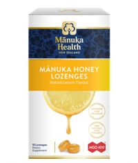 MANUKA HEALTH MGO™400+ Manuka Honey Lozenges with Lemon/ 15 Lozenges