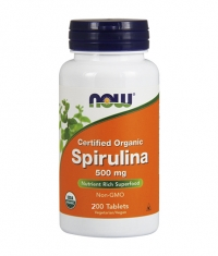 NOW Spirulina 500mg. / 200 Tabs.