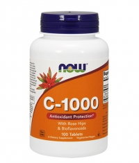 NOW Vitamin C-1000 /Rose Hips/ 100 Tabs.