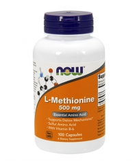 NOW L-Methionine 500mg. / 100 Caps.