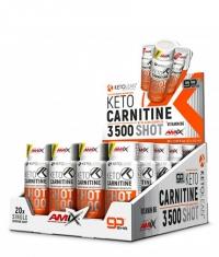 AMIX KetoLean® Keto Carnitine Shot 3500 / 20 x 60 ml