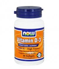 NOW Vitamin D-3 / 1000 IU / 90 Softgels