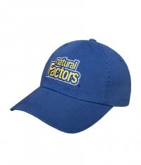 NATURAL FACTORS Hat / Blue