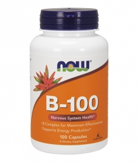 NOW Vitamin B-100 / 100 Caps.