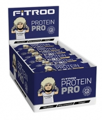 FITROO by Khabib Glazed bar Protein PRO Box / 20 x 50 g