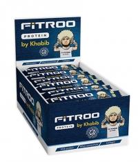 FITROO by Khabib Glazed bar Protein Premium Box / 24 x 50 g