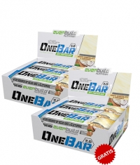 PROMO STACK One Bar 2.0 Box 1+1 FREE ( White chocolate and coconut)