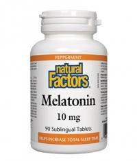 NATURAL FACTORS Melatonin 10 mg / 90 Tabs