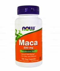 NOW Maca 500mg. / 100 Caps.