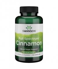 SWANSON Full Spectrum Cinnamon 375mg. / 180 Caps.