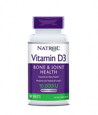 NATROL Vitamin D3 10,000 IU / 60 Tabs.