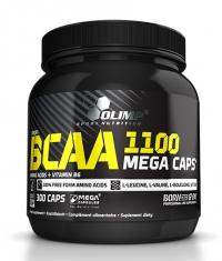 OLIMP BCAA Mega Caps 1100mg. / 300 Caps.