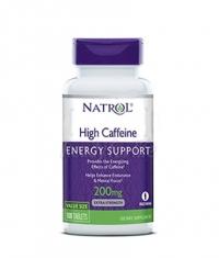 NATROL High Caffeine 200mg. / 100 Tabs.