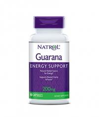 NATROL Guarana 200 mg. / 90 Caps.