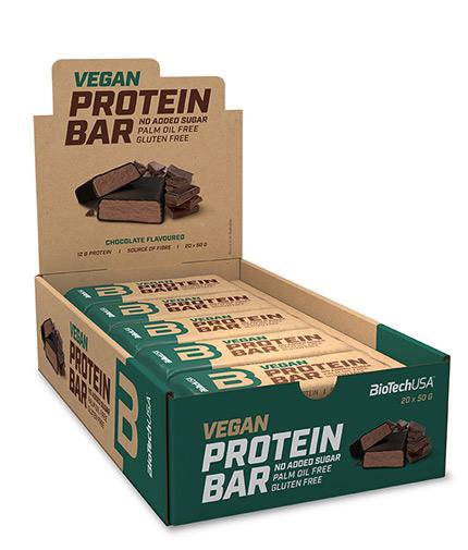 biotech-usa Vegan Protein Bar Box / 20 x 50 g