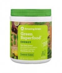 AMAZING GRASS Green Superfood Energy / Lemon & Lime