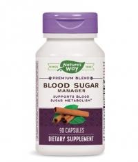 NATURES WAY Blood Sugar With Gymnema 90 Caps.