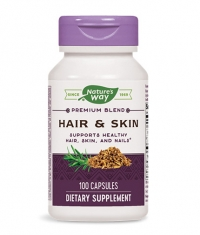 NATURES WAY Hair & Skin With MSM & Glucosamine 100 Caps.