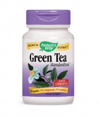NATURES WAY Green Tea Standardized 30 Caps.