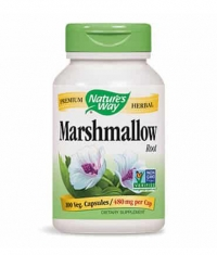 NATURES WAY Marshmallow Root 100 Caps.