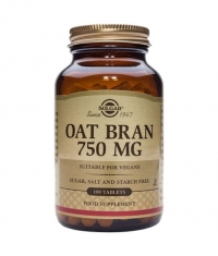 SOLGAR Oat Bran 750 mg. / 100 Tabs.