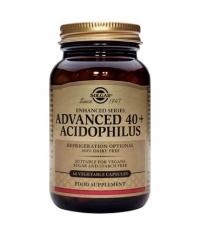 SOLGAR Advanced 40+ Acidophilus 60 Caps.