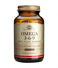 SOLGAR Omega 3-6-9 60 Caps.