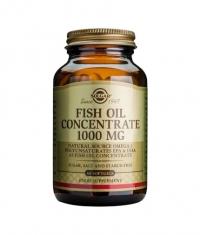 SOLGAR Fish Oil Concentrate 1000 mg. / 60 Caps.