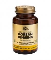 SOLGAR Korean Ginseng, 50 Caps.