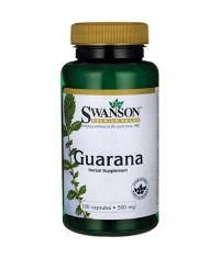 SWANSON Guarana 500mg. / 100 Caps.