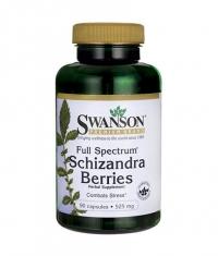 SWANSON Full Spectrum Schizandra Berries 525mg. / 90 Caps.