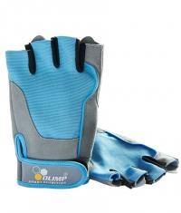 OLIMP Women's Fitness One Gloves / Blue /