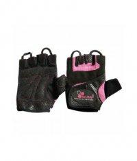 OLIMP Women's Fitness Star Gloves / Pink /