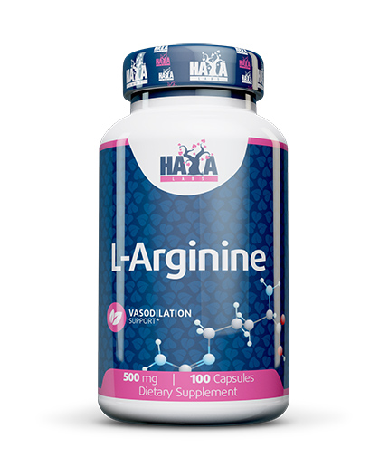 HAYA LABS L-Arginine 500mg. / 100caps.