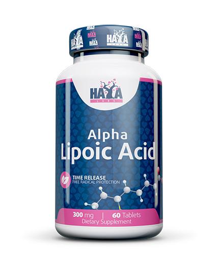 HAYA LABS Sustained Release Alpha Lipoic Acid 300mg. / 60 Vtabs.