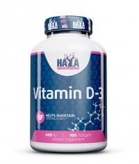 HAYA LABS Vitamin D-3 400 IU / 100 Softgels
