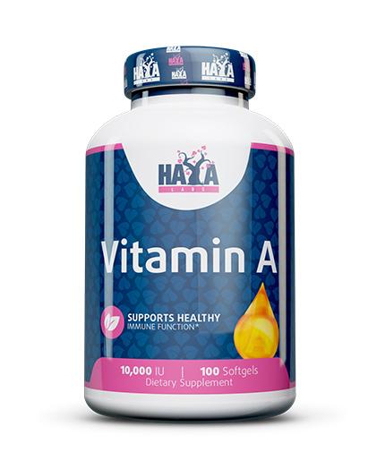 haya-labs Vitamin A 10,000 IU / 100 Softgels