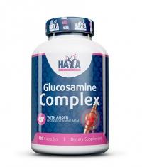 HAYA LABS Glucosamine Chondroitin & MSM Complex 120 Caps.